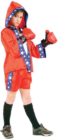 Child Boxer Boy Costume
