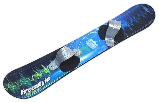 Freestyle 110CM High Performance Fiberglass Snowboard