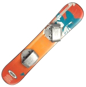 110cm Freestyle Beginner Orange Butterfly Snowboard