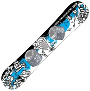 100cm Freestyle Graffiti Kid's Beginner Snowboard