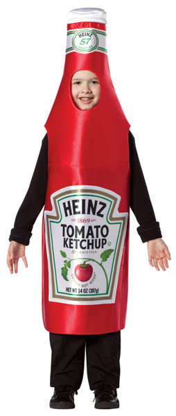 Child's Heinz Ketchup Costume