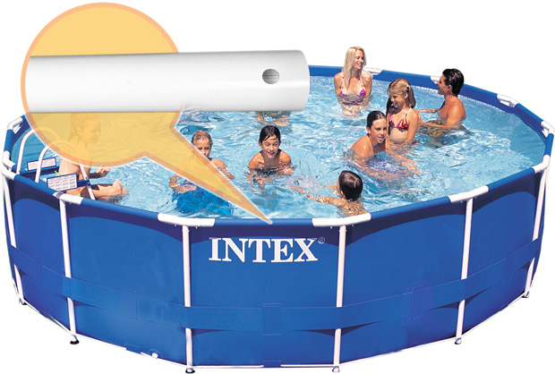 intex horizontal beam for 13 14 and 15 ft frame pools