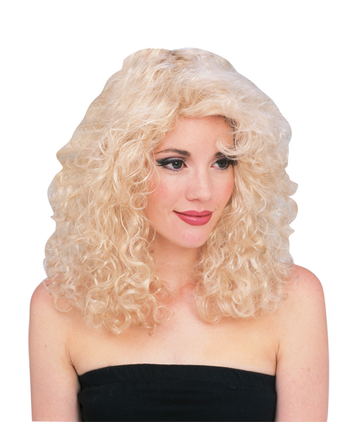 Blonde 80s Glamour Wig