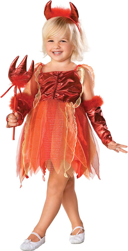 Child's Little Devil Girl Costume