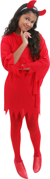 Child's Classic Devil Girl Costume