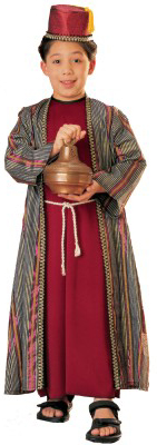 Child's Deluxe Christmas Wiseman Costume