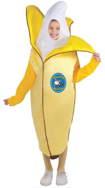 Child's Peeling Banana Costume
