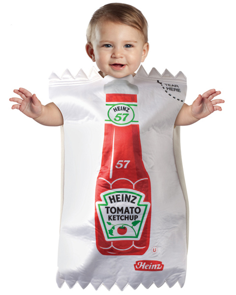 Baby Ketchup Package Costume