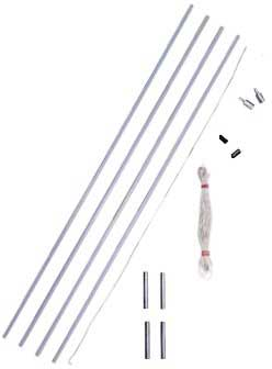 9mm Tent Pole Replacement Kit