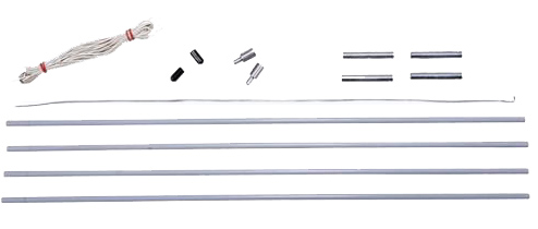 11mm Tent Pole Replacement Kit
