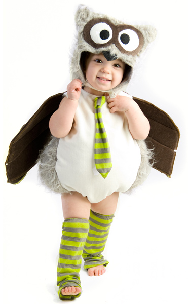 Toddler Awesome Owl Costume