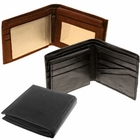 Bi-Fold Men's Leather Wallets