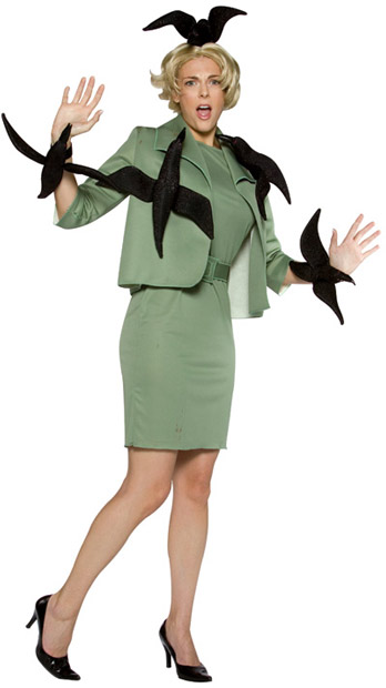 Adult When Birds Attack Costume