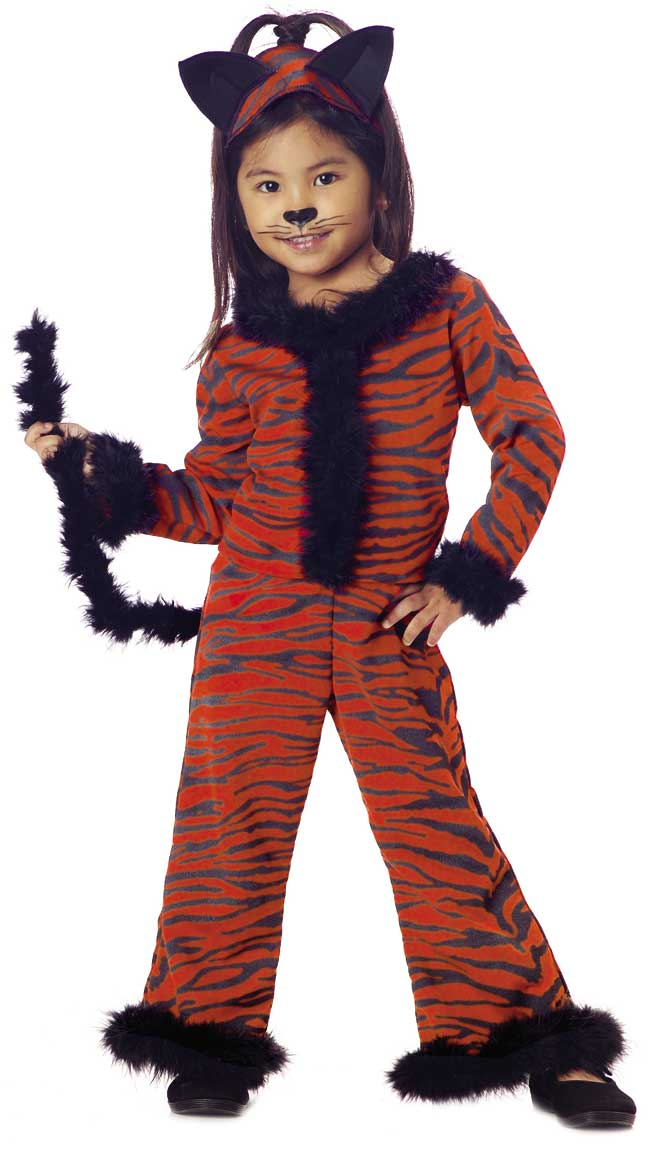 Toddler Tiger Girl Costume