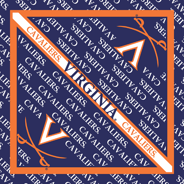 Virginia Cavaliers Bandanas