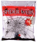 Large Fake Halloween Spider Web