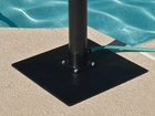 Deluxe Solar Outdoor Shower Base