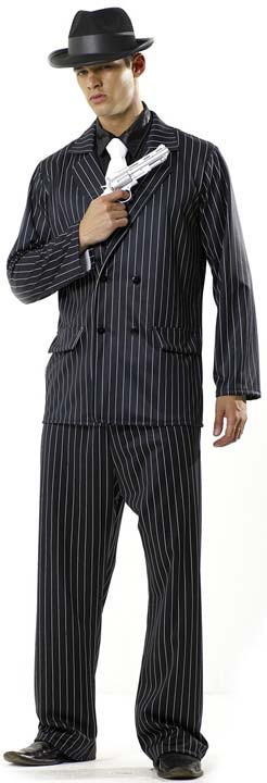 Men's Adult Mafia Costume