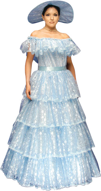 Scarlett O'Hara Southern Belle Theater Costume