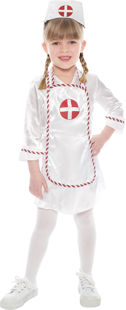 Toddler Adorable Nurse Costume
