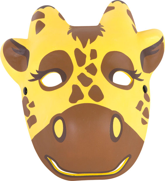 Foam Giraffe Mask