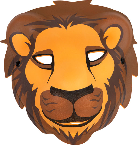 Foam Lion Mask