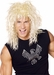 Adult Blonde 80s Rockstar Costume Wig