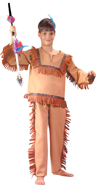 Child's Native Indian Boy Costume
