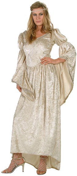 Renaissance Wedding Dress Costume