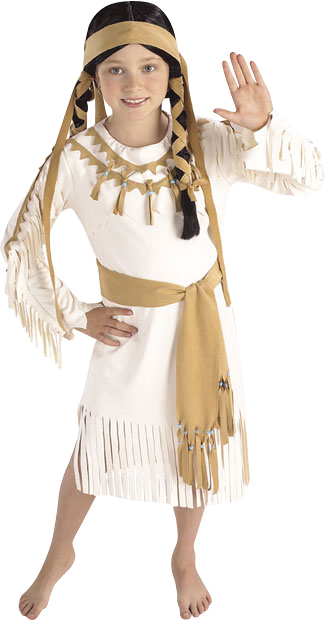 Child's Indian Fawn Princess Costume