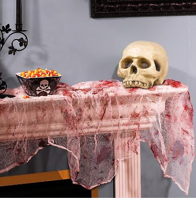 bloody gauze halloween decoration - Bloody Halloween Decorations