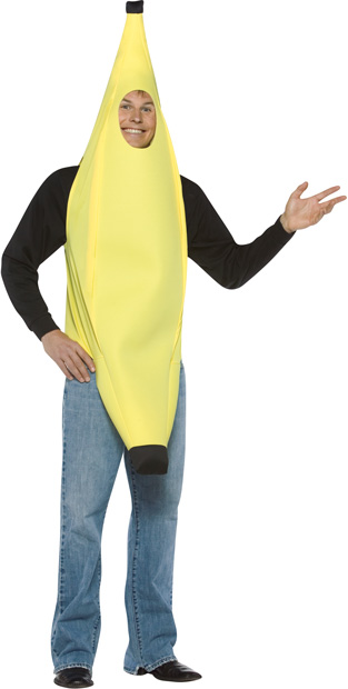 Adult LW Banana Costume