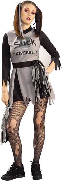 Women's Zombie Cheerleader Costume
