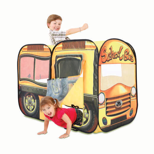 Playhut Role Play Big Yellow School Bus