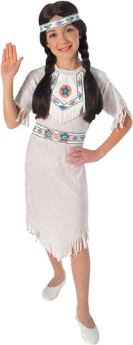 Child's Indian Dress Costume