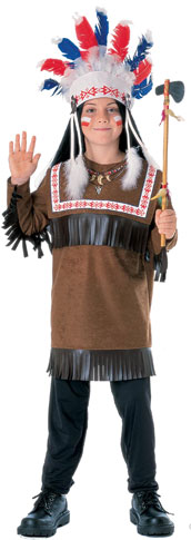 Child's Cherokee Indian Costume