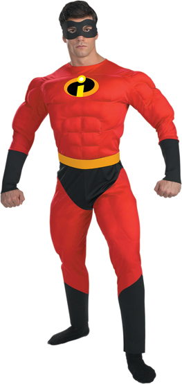 Adult  Mr  Incredible Costume