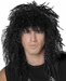 Black 80's Hair Band Wig