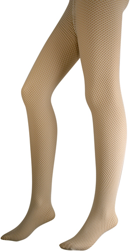 White Fishnet Pantyhose