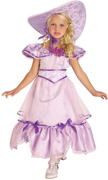 Child's Purple Southern Bell Costume