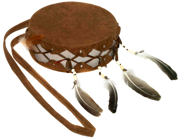 Full-Size Native American Hand Drum