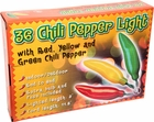 Multi-Colored Chili Pepper String Lights