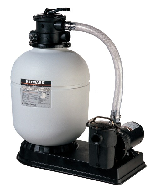"Pool Sand Filter Sytem, 1 HP, 18"" Filter Tank"