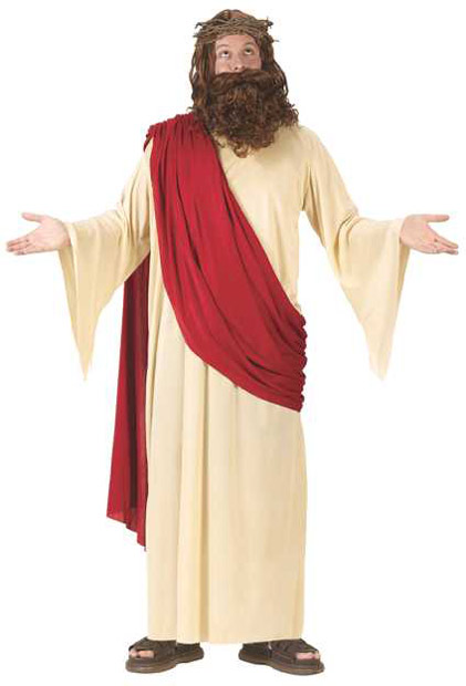 Adult Jesus Costume w/ Wig & Crown