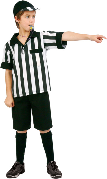 Child Referee Boy Costume