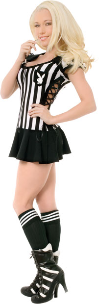 Sexy Playboy Referee Costume
