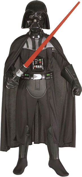 Child's Deluxe Darth Vader Costume