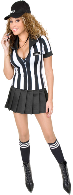 Sexy Teen Referee Costume