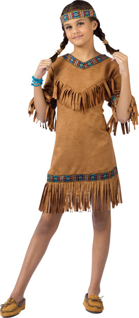 Child's Native American Indian Girl Costume