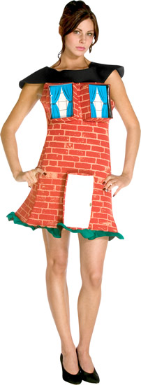 Adult Brick House Costume